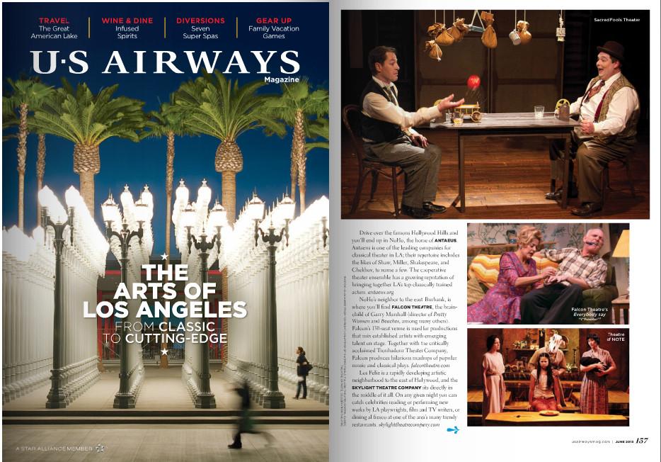 US Airways SkeletonStories promo